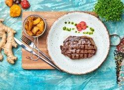 Rib eye steak Black Angus image