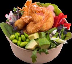 Avocado & creveți crispy salad image