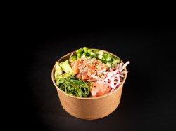 Avocado & somon sushi image