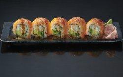Salmon Goma Roll image