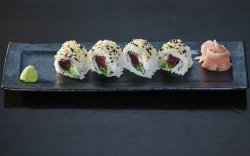 Beet and Sea Weed Roll image