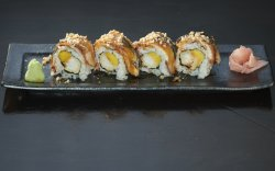 Eel and Nut Roll image