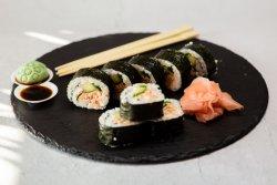 Grilled salmon Futomaki image
