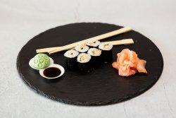 Grilled Salmon Maki image