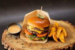 Meniu burger double 630 g image