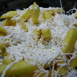 Cartofi prajiti cu telemea rasa  image