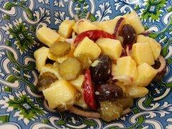 Salata orientala de cartofi de post image