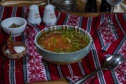 Ciorbă țărănească de văcuță/Beef Peasant Soup image