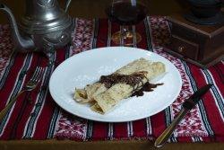Clătite cu ciocolată/ Pancakes with chocolate image