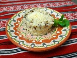Orez sălbatic cu parmezan/ Wild rice with Parmesan cheese image
