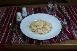Paste cu creveți/ Pasta with shrimp image