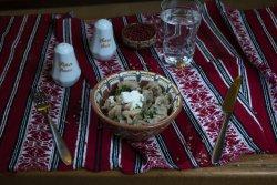 Salată de bureți Pleurotus/ Pleurotus mushrooms salad image