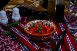 Salată de ardei copți cu usturoi/ Roasted bell pepper and garlic salad image