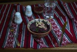 Salată de sfeclă roșie cu hrean/ Beetroot and horseradish salad image