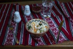 Salată de varză albă proaspătă cu morcov/ Fresh white cabbage salad with carrot image