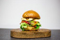 Veggie Halloumi Burger image
