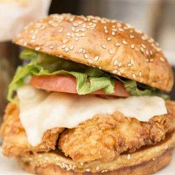 Burger crispy image