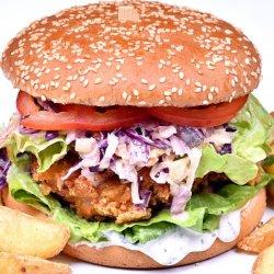 Burger snitel pui image