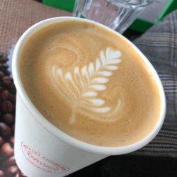 Macadamia nut latte image