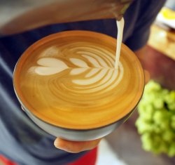 Café Latte MAX LVL decofeinizat/ decaffeinated image