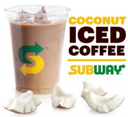 Coconut Iced Coffee  image