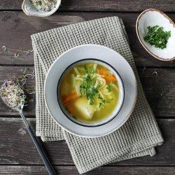 Supă de pui cu tăiței de casă image