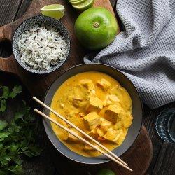 Tofu tikka masala cu orez basmati image
