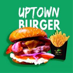 Burger UpTown Angus (cartofi prăjiți incluși) image