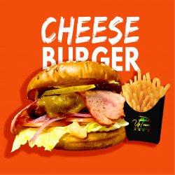 Cheeseburger Angus (cartofi prăjiți incluși) image