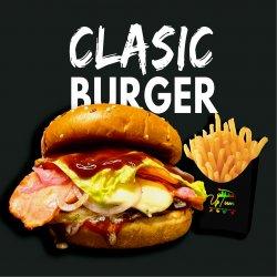 Classic Burger Angus (cartofi prăjiți incluși) image