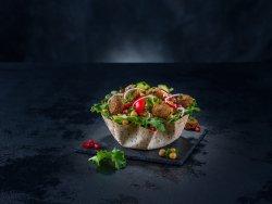 Falafel salad image