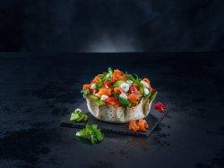 30% Reducere Smoked salmon salad image