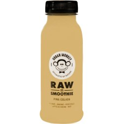 Raw Smoothie Pina Colada 250ml Urban Monkey image