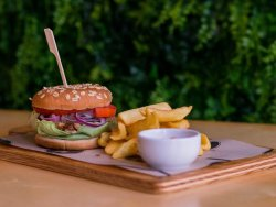 Burger Gyros Porc image