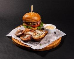 50% REDUCERE: Cheddar Cheeseburger image