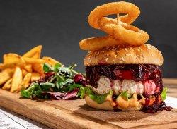 Meniu Vegetarian Burger  image