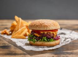 Meniu Burger Moving Mountains Vegetarian image