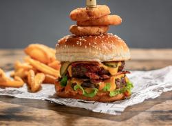 Meniu Dublu Cheeseburger image