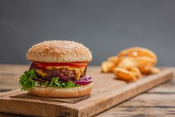Meniu Burger Beyond Meat Vegetarian image
