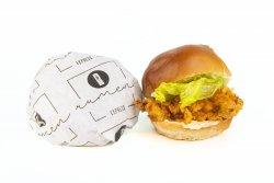 Spicy crispy burger image
