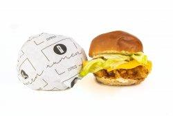 Crispy ceddar burger image