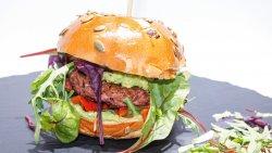 Mexican Guacamole Vegan Burger image