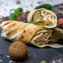 Sandiwch falafel image