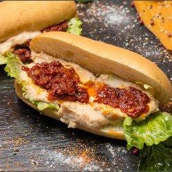 Sandwich fasole batura image
