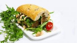 Panino Vegan Salsicea  image