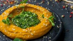 Pate de linte roșie cu pâine Roti image