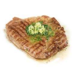 Ceafă de porc la grătar cu unt aromatizat la alegere  image