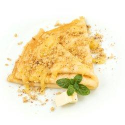 Clătita cu miere, unt și nuci  image