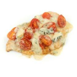 Pui cu gorgonzola și roșii cherry image