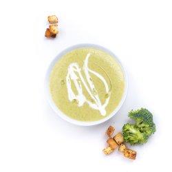 Supă cremă de brocoli și gorgonzola image